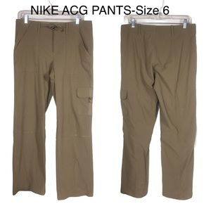 Nike ACG All Conditions Gear Pants Tan Pockets-6